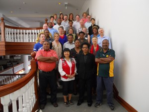 Participants in 2013 ISTAR conference