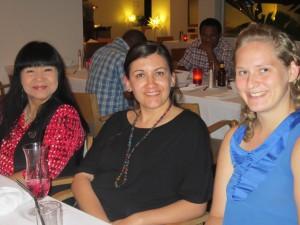 Cheryl Partridge, Joey-Lynn Wabie and Birgitte Urdal